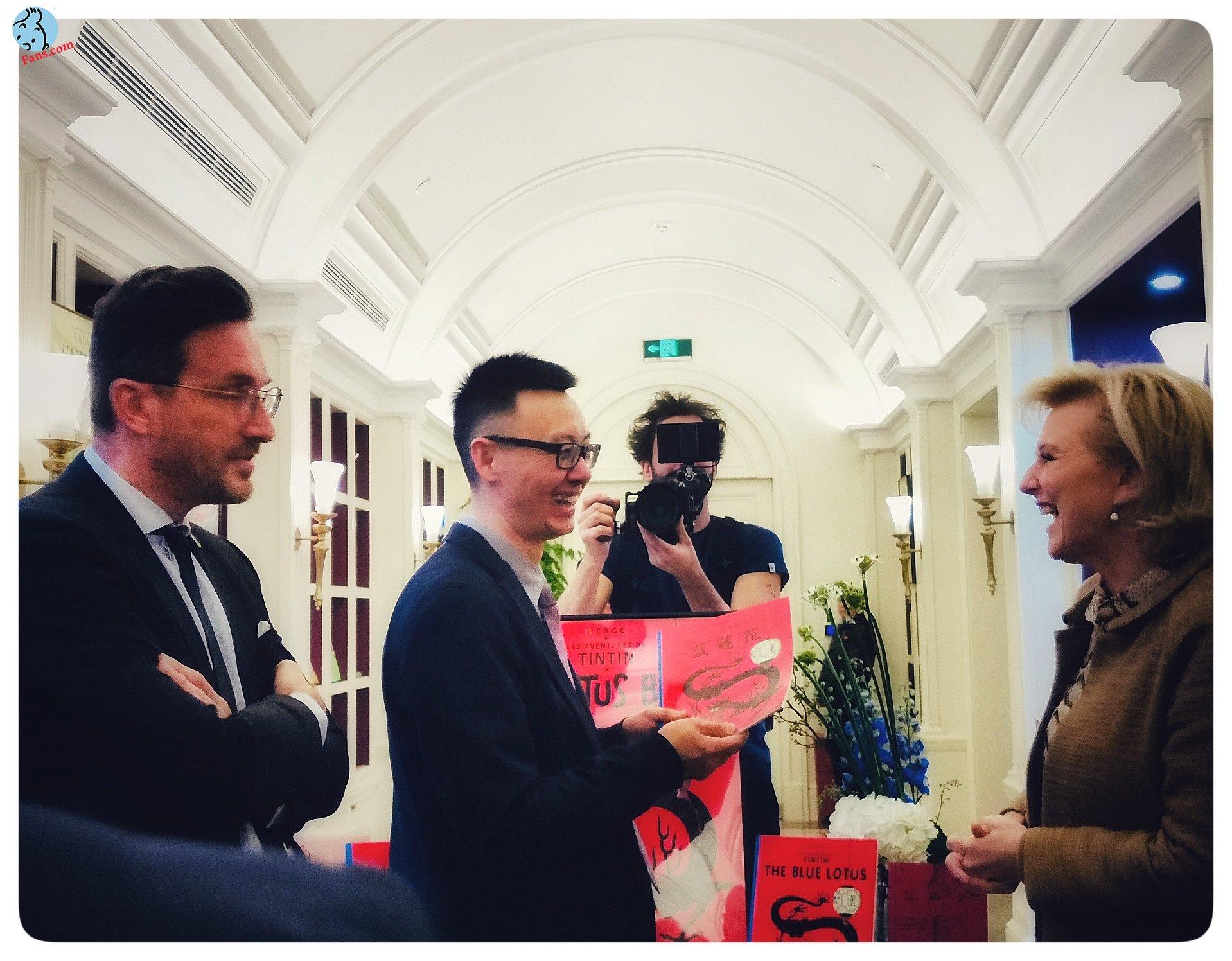 پرنسس بلژیک در بوتیک تن تن شعبه چین !