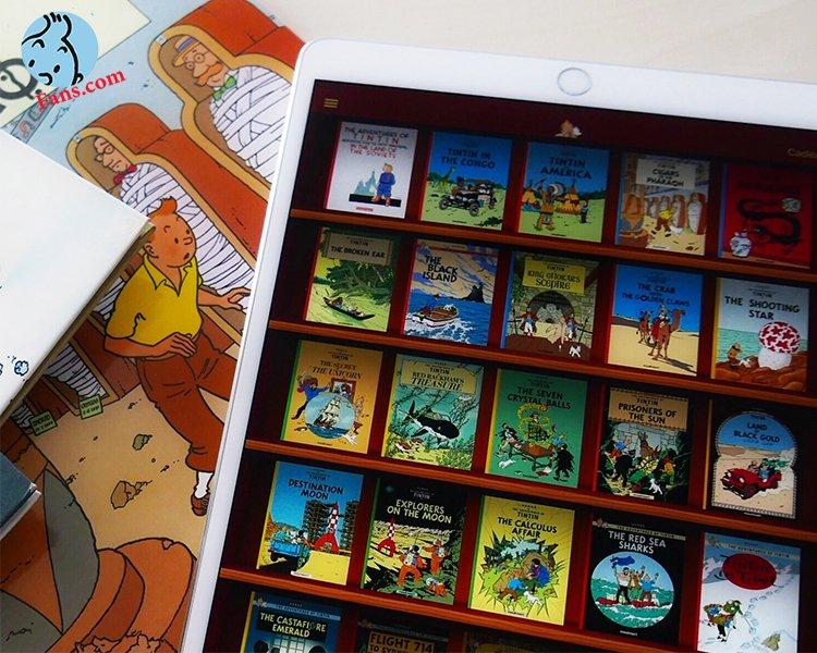 کتاب های دیجیتالی تن تن کامل شد