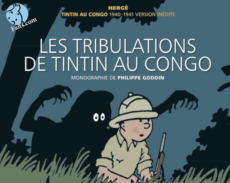 کتاب جامعی در مورد تن تن در کنگو چاپ شد