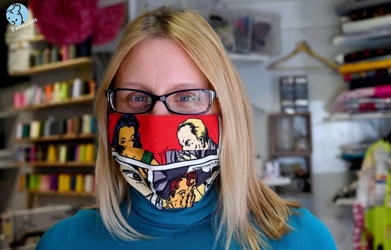 ماسک هم ماسک کمیکی !!!