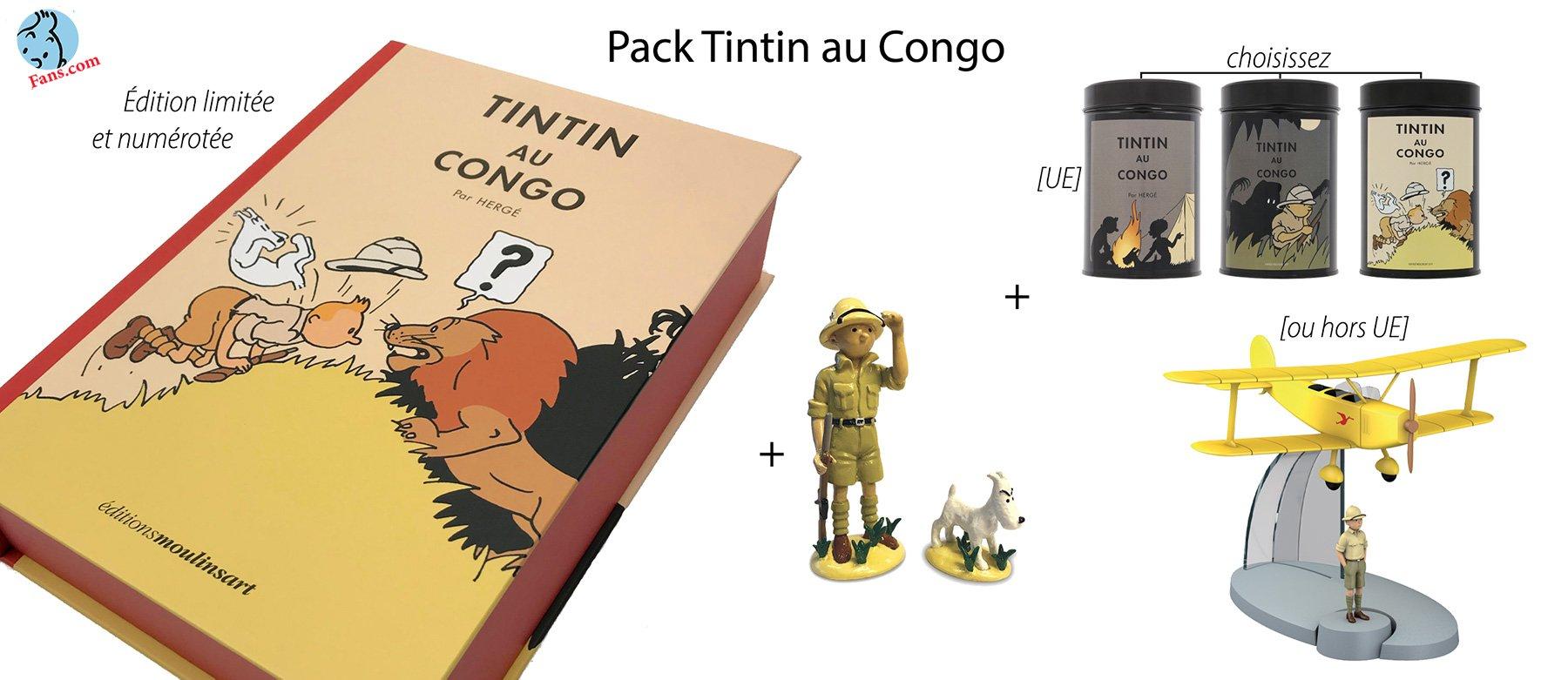 پکیج لیمیتد ادیشن کنگو به مناسب 90 سالگی تن تن
