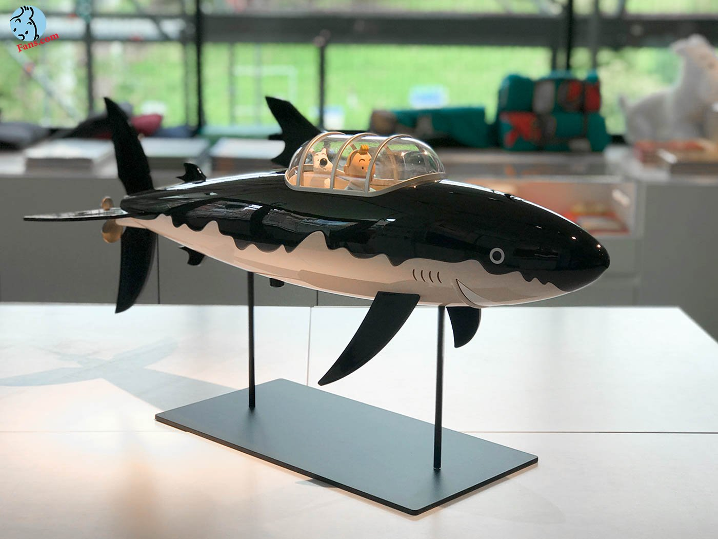 فیگور جدید زیردریایی تورنسل !