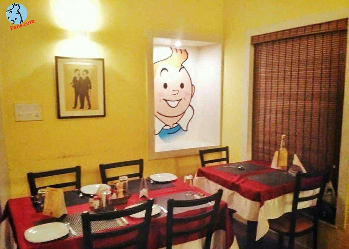 رستورانی با theme تن تن در قلب بلژیک !